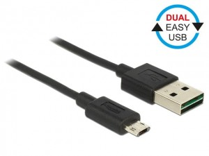 Delock Kabel Micro USB AM-BM DUAL EASY-USB 2m