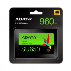Adata Dysk SSD Ultimate SU650 960G 2.5 S3 3D TLC Retail